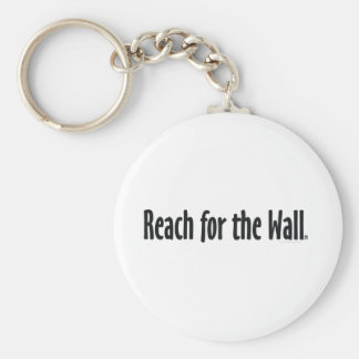 TOP Reach for the Wall Basic Round Button Keychain