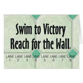 TOP Reach for the Wall Greeting Card