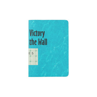 TOP Reach for the Wall Passport Holder