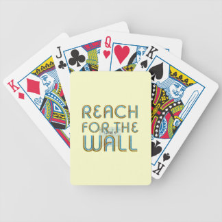 TOP Reach for the Wall Bicycle Playing Cards