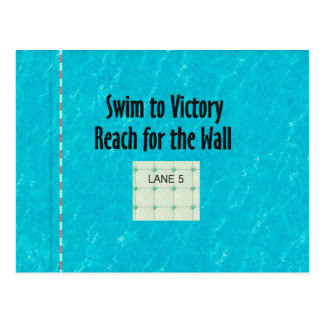 TOP Reach for the Wall Postcard