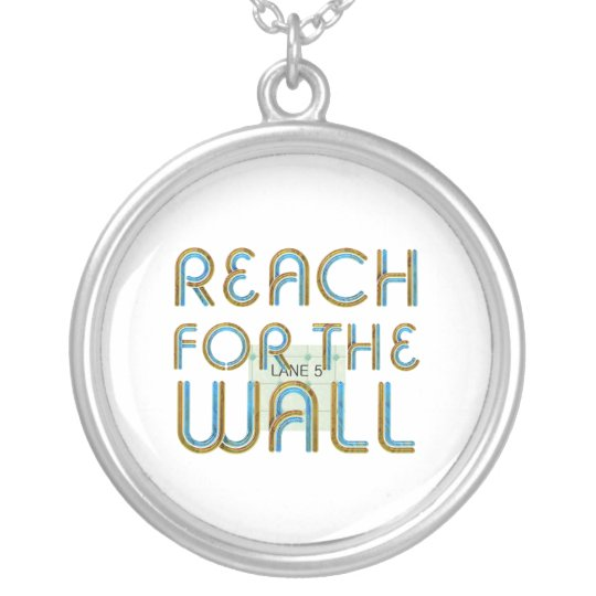 TOP Reach for the Wall Silver Plated Necklace