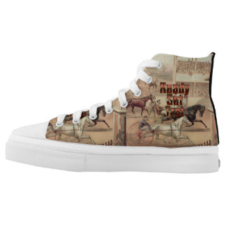 TOP Ready Set Trot High-Top Sneakers