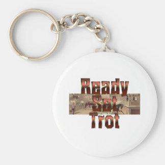 TOP Ready Set Trot Keychain
