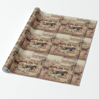 TOP Ready Set Trot Wrapping Paper