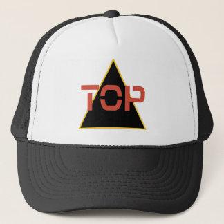 Top Red Trucker Hat