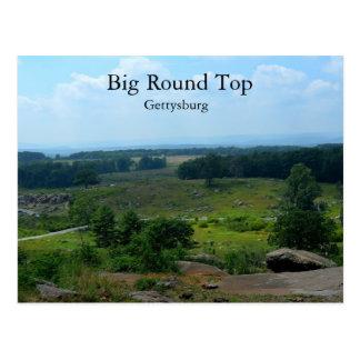 Top redondo grande en Gettysburg Postal