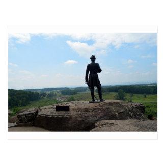 Top redondo grande en Gettysburg Postales