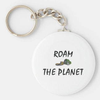 TOP Roam the Planet Keychain