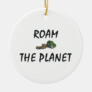 TOP Roam the Planet Christmas Tree Ornaments