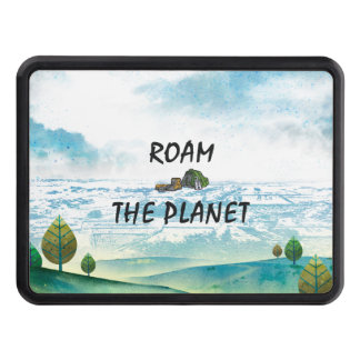 TOP Roam the Planet Tow Hitch Covers