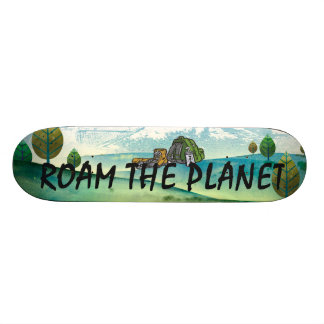 TOP Roam the Planet Skateboard
