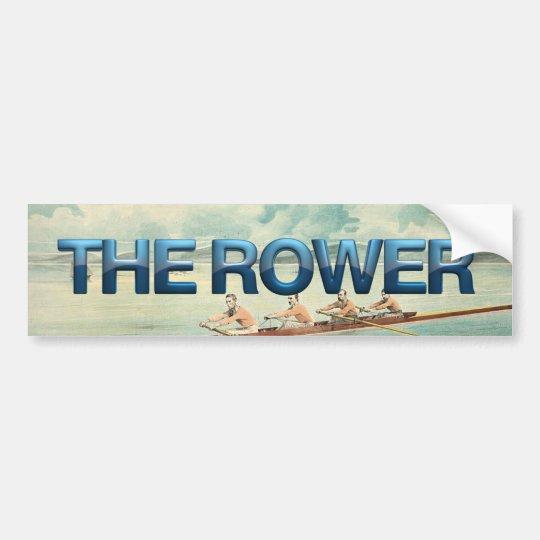 TOP Rower Bumper Sticker