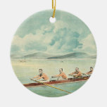 TOP Rower Christmas Ornament