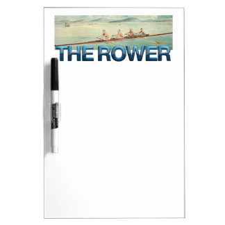TOP Rower Dry Erase Board