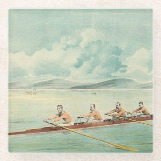 TOP Rower Glass Coaster