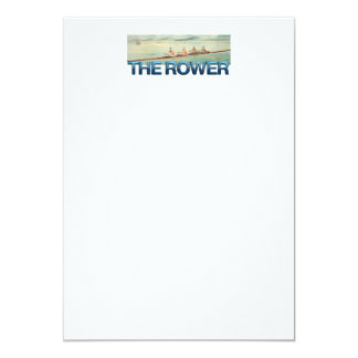 TOP Rower 5x7 Paper Invitation Card