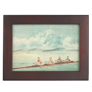 TOP Rower Keepsake Box