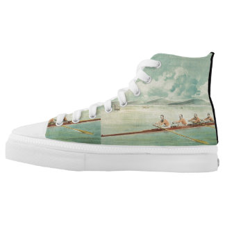 TOP Rower Printed Shoes