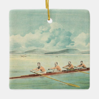 TOP Rower Square Ornament