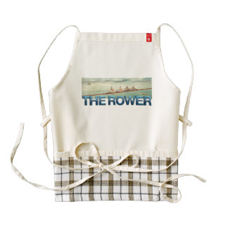 TOP Rower Zazzle HEART Apron