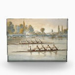 """TOP Rowing Award<br><div class=""""desc"""">Classic rowing image of two teams on the Thames vying for the race lead. Cool. Hip. Retro. Great for all those rowing fans,  rowers,  rowing coaches,  and others who can&#39;t wait to get on the water and row.</div>"""