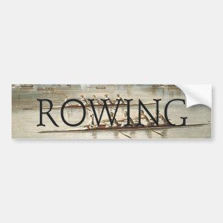 TOP Rowing Bumper Sticker