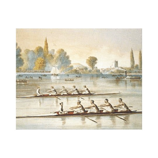 TOP Rowing Canvas Print