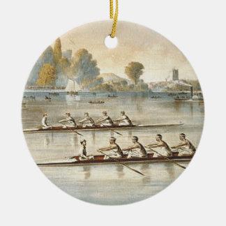 TOP Rowing Ceramic Ornament