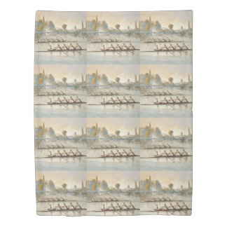 TOP Rowing Duvet Cover