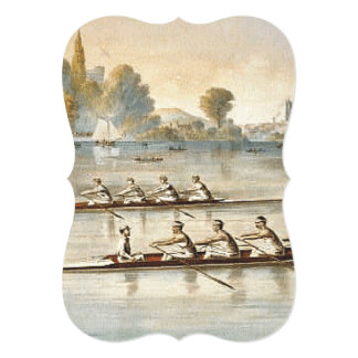 TOP Rowing 5x7 Paper Invitation Card