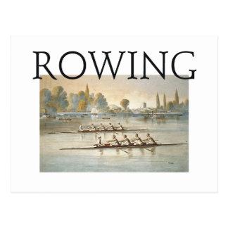 TOP Rowing Postcard
