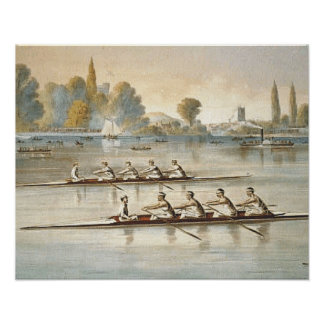 TOP Rowing Poster