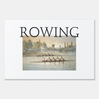 TOP Rowing Sign