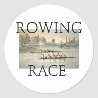 TOP Rowing Sticker
