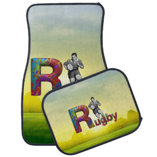 TOP Rugby Car Floor Mat