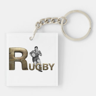 TOP Rugby Keychain