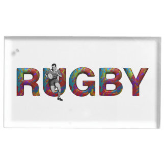 TOP Rugby Table Card Holders