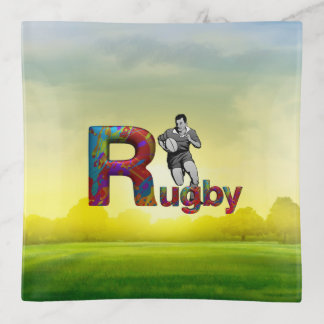 TOP Rugby Trinket Trays