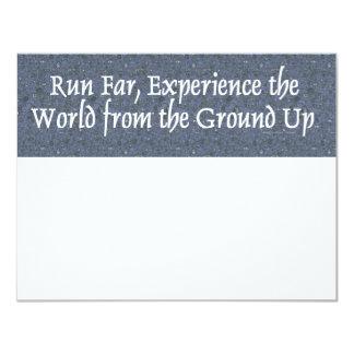 TOP Run Far Card