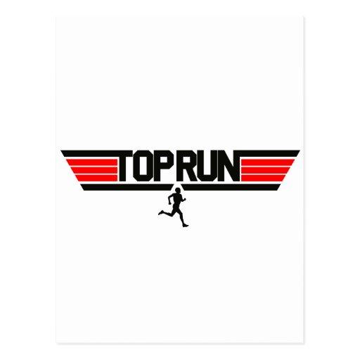 Top Run Postcard