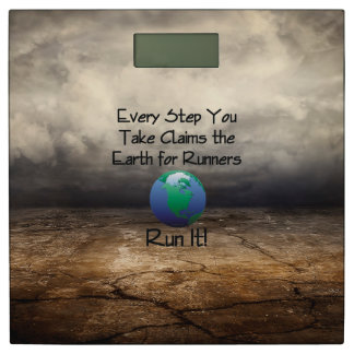 TOP Runner's Earth Bathroom Scale