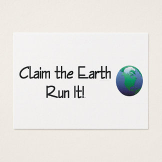 TOP Runner's Earth Business Card