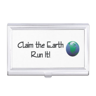 TOP Runner's Earth Case For Business Cards