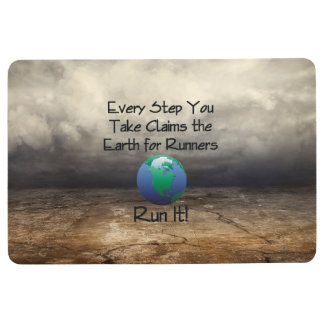 TOP Runner's Earth Floor Mat