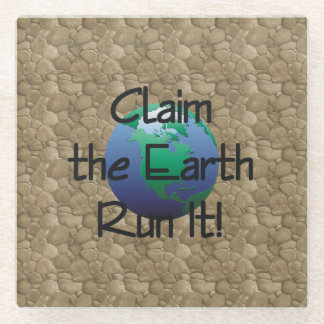 TOP Runner's Earth Glass Coaster