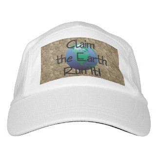 TOP Runner's Earth Headsweats Hat