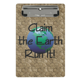 TOP Runner's Earth Mini Clipboard