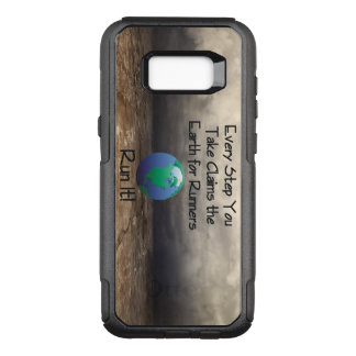 TOP Runner's Earth OtterBox Commuter Samsung Galaxy S8+ Case