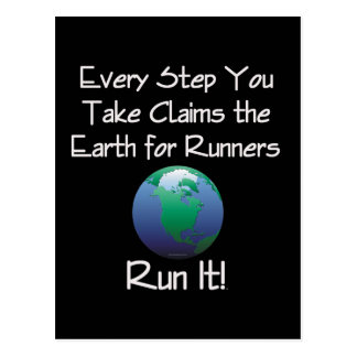 TOP Runner's Earth Postcard